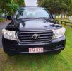 2008 Toyota Landcruiser GXL 200 Series 4×4 Black – 2