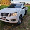 2015 Nissan Navara DX NP300 D23 4cyl Petrol 4×2 6 Speed Manual Ute – 3